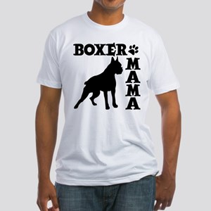 BOXER MAMA Fitted T-Shirt