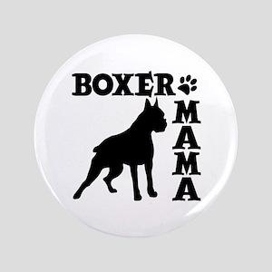 "BOXER MAMA 3.5"" Button"