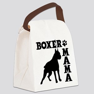 BOXER MAMA Canvas Lunch Bag