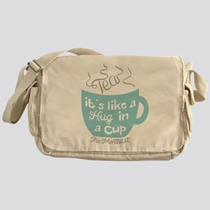 Tea Hug In A Cup The Mentalist Messenger Bag