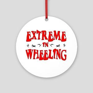 Extreme Wheeling Ornament (Round)