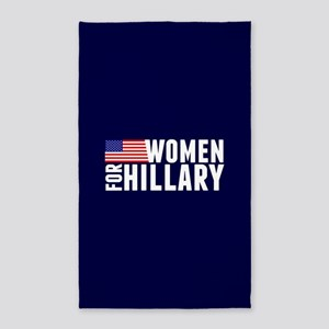 Women Hillary Blue Area Rug