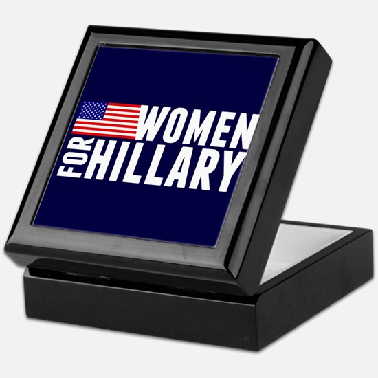 Women Hillary Blue Keepsake Box