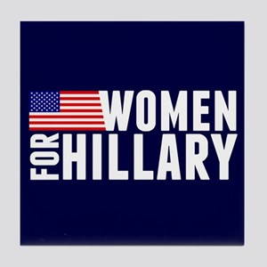 Women Hillary Blue Tile Coaster