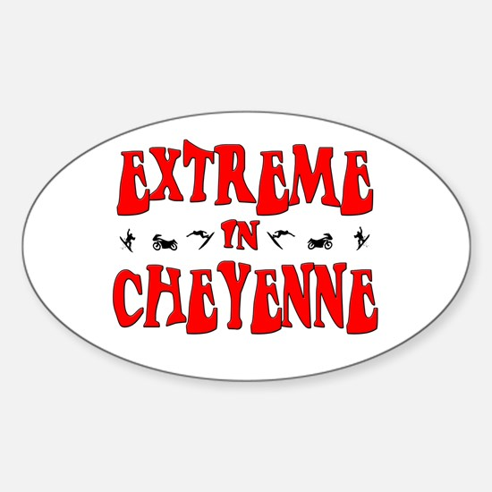 Extreme Cheyenne Oval Decal