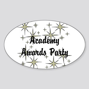 Academy Awards Party Sticker