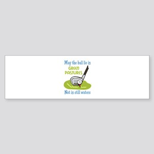 GOLFERS PRAYER Bumper Sticker