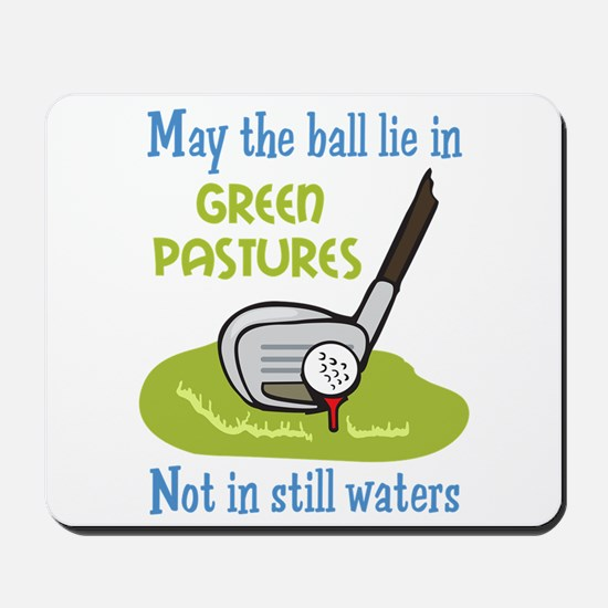 GOLFERS PRAYER Mousepad