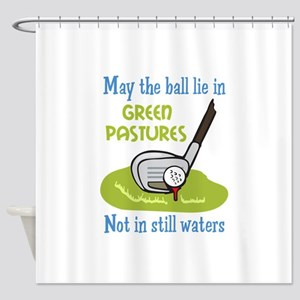 GOLFERS PRAYER Shower Curtain