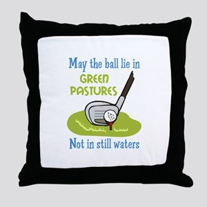 GOLFERS PRAYER Throw Pillow