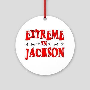 Extreme Jackson Ornament (Round)