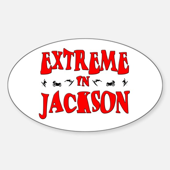 Extreme Jackson Oval Decal