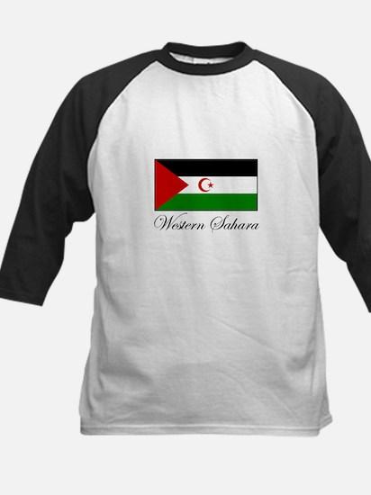 Western Sahara - Flag Kids Baseball Jersey