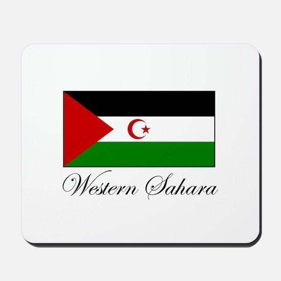 Western Sahara - Flag Mousepad