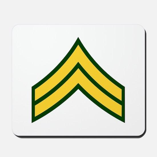 """Army E4 """"Class A's"""" Mousepad"""
