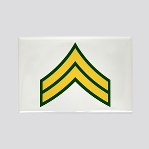 """Army E4 """"Class A's"""" Rectangle Magnet"""