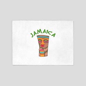 TIKI JAMAICA 5'x7'Area Rug