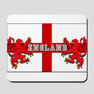 England Lion Flag Mousepad
