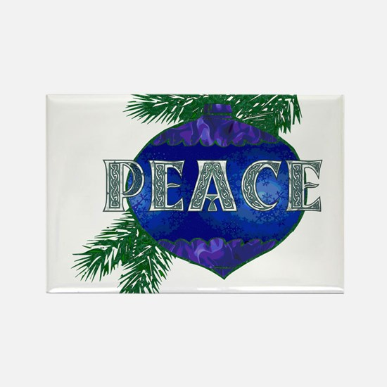 Christmas Peace Ornament Magnets