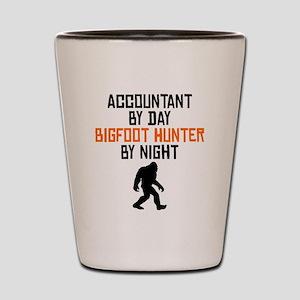 Accountant By Day Bigfoot Hunter By Night Shot Gla