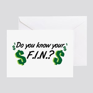 Do you know your FIN? Greeting Cards (Pk of 10