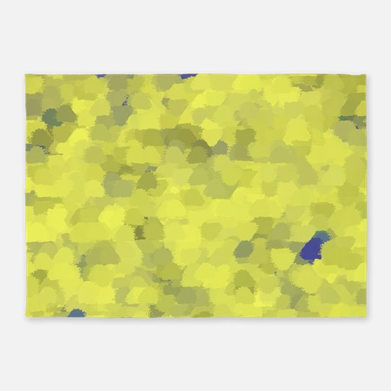 many small colored squares shaded s 5'x7'Area Rug