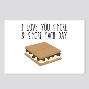 I Love you S'More Each Da Postcards (Package of 8)