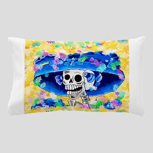 Dia De Los Muertos - La Calavera Catri Pillow Case