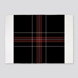 scottish tartan patterns 5'x7'Area Rug