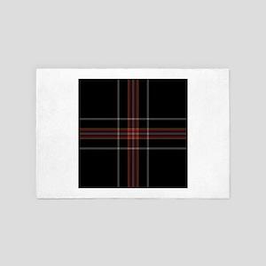scottish tartan patterns 4' x 6' Rug
