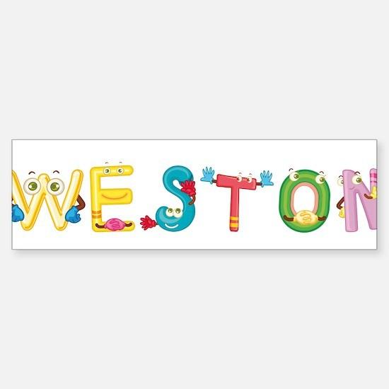 Weston Bumper Bumper Bumper Sticker