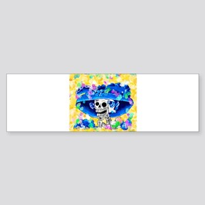 Dia De Los Muertos - La Calavera Ca Bumper Sticker