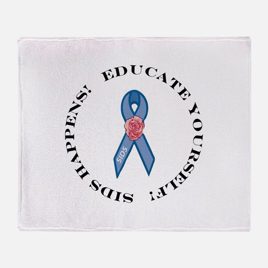 Educate Yourself Throw Blanket