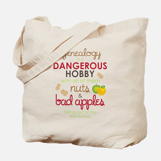 Genealogy Nuts Tote Bag