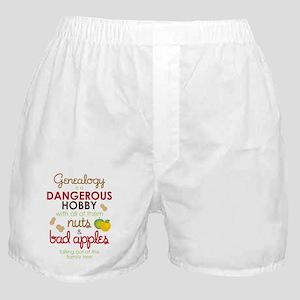 Genealogy Nuts Boxer Shorts
