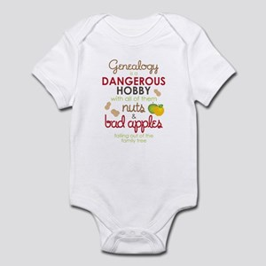 Genealogy Nuts Infant Bodysuit