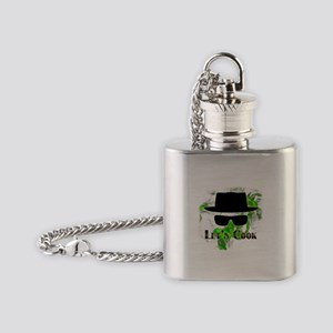 Let's Cook Flask Necklace