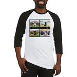 4 Seasons with a Pug Baseball Jersey
