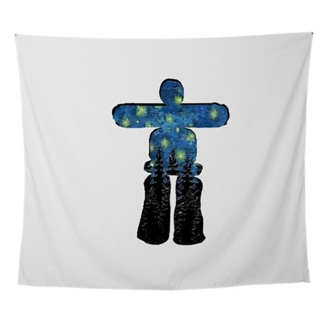 SHINE THE NIGHT Wall Tapestry