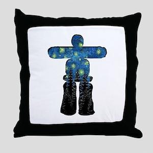 SHINE THE NIGHT Throw Pillow