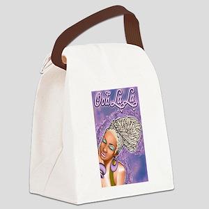 Ooh La La Canvas Lunch Bag