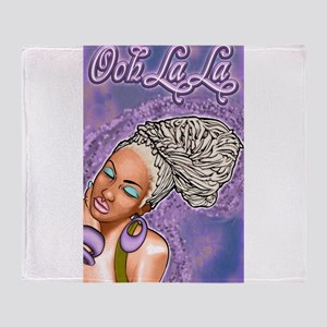 Ooh La La Throw Blanket