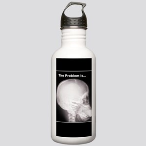 foot in mouth xray Stainless Water Bottle 1.0L