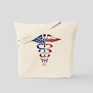 American Caduceus Tote Bag