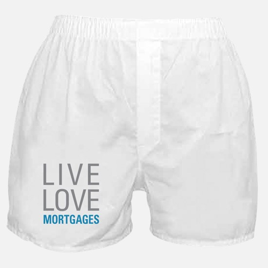 Mortgages Boxer Shorts