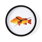 Yelloweye Rockfish Wall Clock