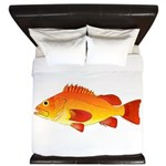Yelloweye Rockfish King Duvet