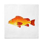Yelloweye Rockfish Queen Duvet