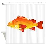 Yelloweye Rockfish Shower Curtain