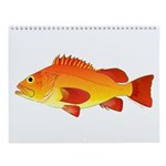 Pacific Northwest And Alaska Fish Wall Calendar